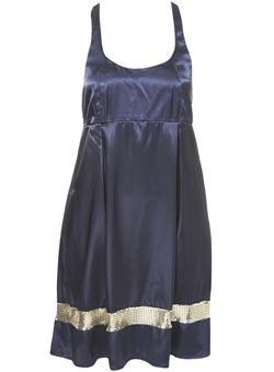 Topshop Muscle Back Dress